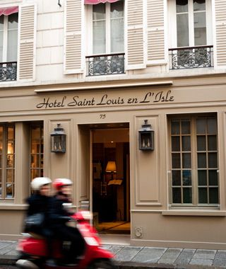 Need an affordable-yet-chic hotel option in Paris? Try the centrally located Hôtel Saint-Louis en l'Isle,