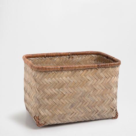 BAMBOO BASKET - Baskets - Decoration | Zara Home Sweden