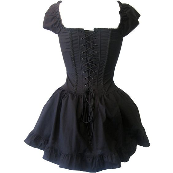 fun dress!... Living Dead Souls Corset Dress | Gothic Clothing | Emo clothing | Alternative clothing | Punk clothing - Chaotic Clothing