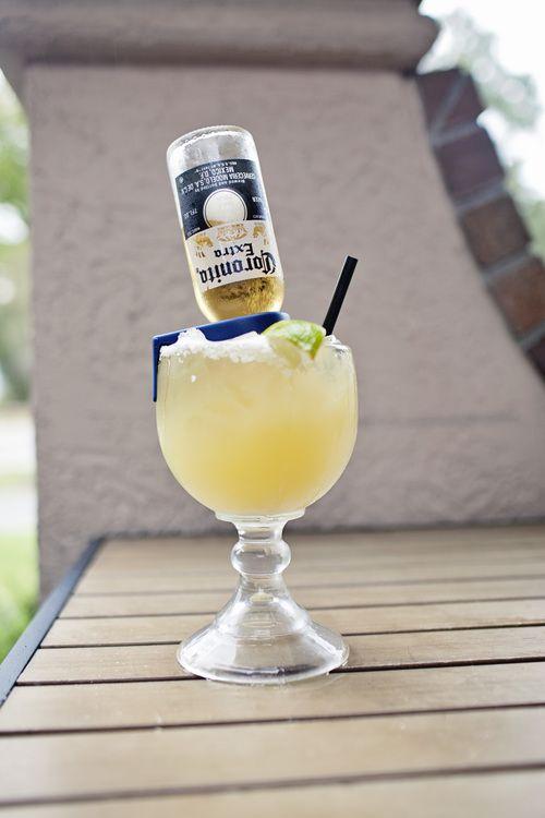 Margarona Margarita: Margarita + mini Corona + patio on Hilton Head= yes please! #auntchiladashhi