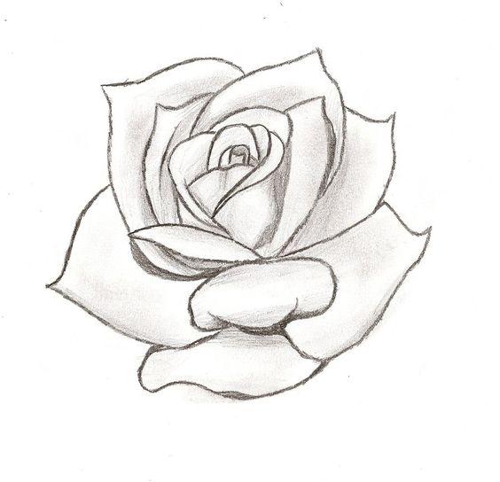 Line Art Flower Stencil Designs : Rose stencil cake ideas and designs rosen pinterest