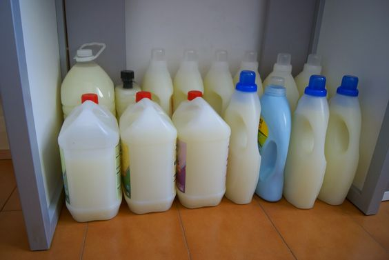 Anna recetas f ciles jab n para lavadora con aceite - Jabon natural para lavadora ...