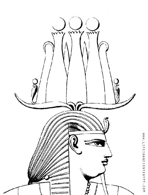 Free Printable Ancient Egypt Coloring Page Pharaoh Egyptian King
