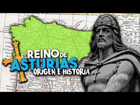 Los Orígenes E Historia Del Reino De Asturias 718 910 Youtube Historia El Origen Asturias España