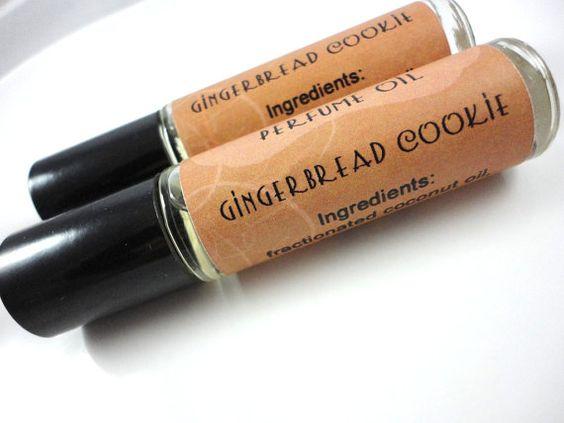Gingerbread cookie perfume.
