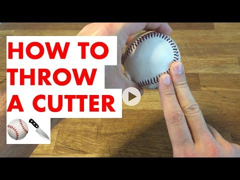 How To Throw A Cutter Grips And More Youtube Baseball Pitching Drills Baseball Drills Coaching Baseball Pitching