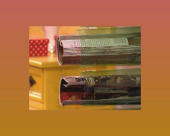 Que tal aprender a fazer um revisteiro de garrafa PET? Veja como é fácil! Para aquelas que querem t