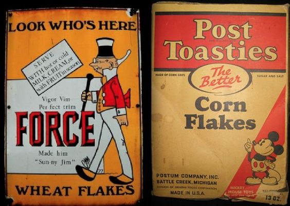 1920s Post Cereal Boxes | Just Add Milk How Cereal Transformed American Culture - Neatorama | MINIATURE - FOOD - BREAKFAST-CEREAL | Pinterest & 1920s Post Cereal Boxes | Just Add Milk: How Cereal Transformed ... Aboutintivar.Com