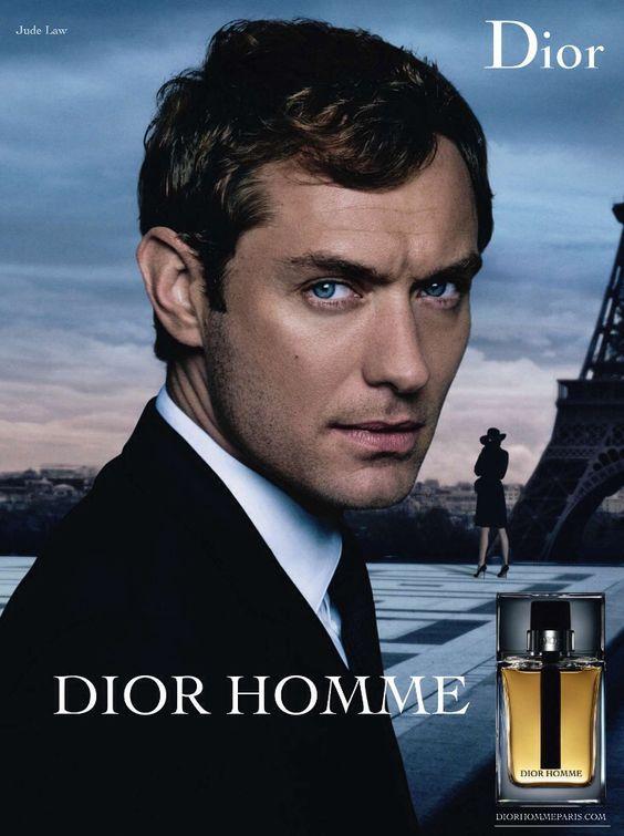 Diorのジュード・ロウ