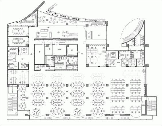 floor plan of office layout - Tìm với Google | Plan office ...