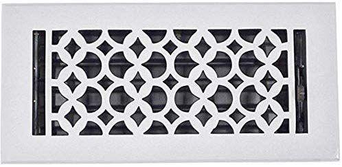 Amazon Com Floor Register 4x10 Cast Iron Floor Vent With Metal