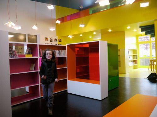 Bibliothèque Ecole Bergson - Sara de.Gouy, Architecte, Designer