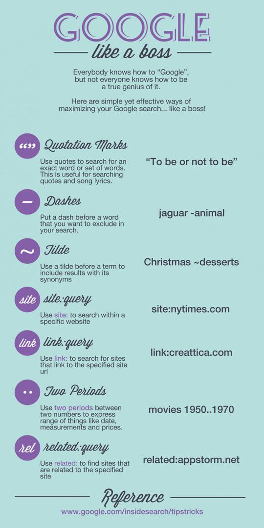 How to Google like a boss. More people need to know this. -D