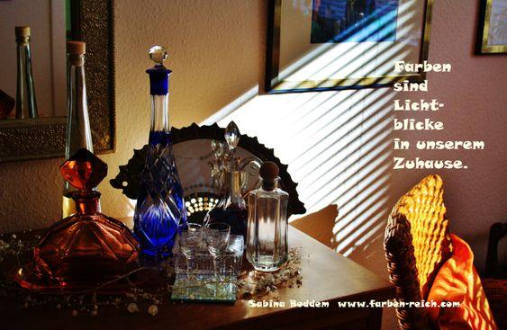 Farben sind Lichtblicke in unseremZuhause http://www.farben-reich.com/