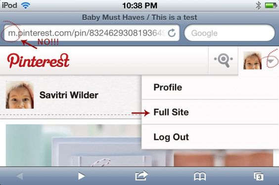 Great tutorial on how to add pinterest bookmarklet to your iPhone or iPad
