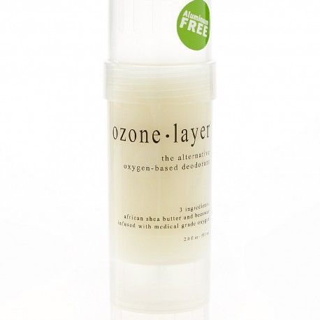 Oxygen infused, all natural deodorant, Ozone Layer Deodorant – Unscented, now available in seven variations.