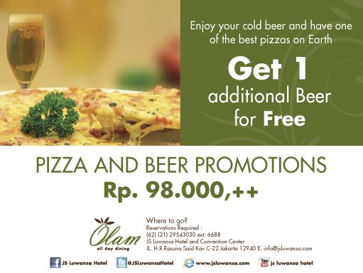 ... ideas and more hotels pizza promotion beer food drinks food drinks