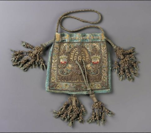 Drawstring bag English, Late 16th–early 17th century England ...