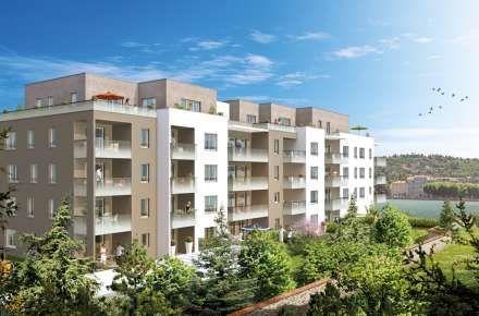 """Architecture moderne : programme neuf à Lyon """"Panoramic"""" réalisé par le promoteur UTEI"""