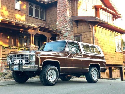 Only Surface Rust 1977 Gmc Jimmy K5 Blazer Offroad In 2020