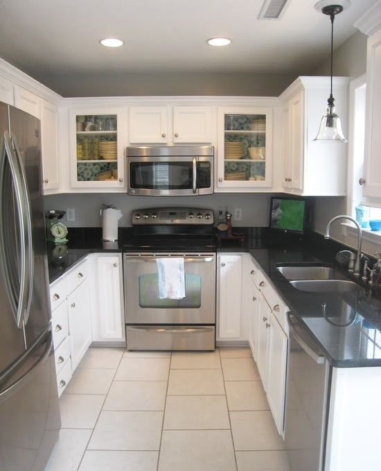 Kitchen Inspiration White Cabinets: Kitchen White, Slate And Wallpapers On Pinterest