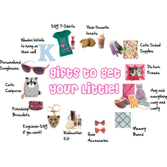 Ideas for gifts for your little. T-shirts, school supplies, letters, etc! All very general!