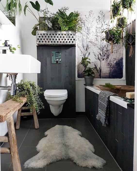 10 Ways To Bring The Outdoors In 28 Pics Decoholic Bathroom Plants Decor Bohemian Bathroom Bathroom Design