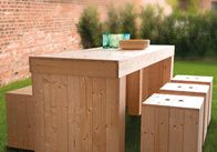 Outdoor lounge selber machen for Holzpaletten kaufen obi