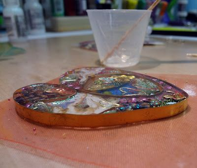 Bezel Wire and Resin - A Tutorial For Experienced Resin Users Part THREE