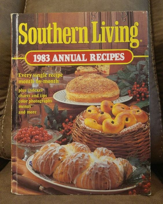 $16.95 OBO! Southern Living CookBook 1983 Annual Recipes Oxmoor HC Vintage Collectible