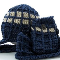 TARDIS-inspired Hat & Scarf Crochet Pattern - Doctor Who ...