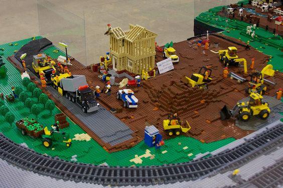 PennLUG layout at Philly BrickFest | Rob Bender | Flickr