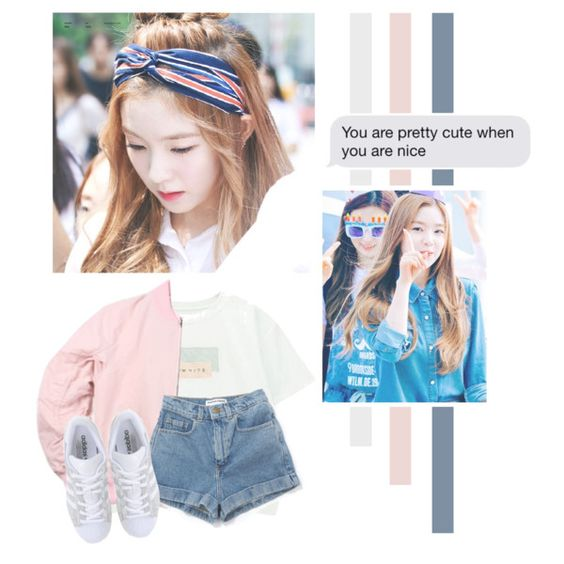 Bae Joohyun by lazy-alien on Polyvore featuring mode, Chicnova Fashion, adidas Originals, Irene, redvelvet and baejoohyun