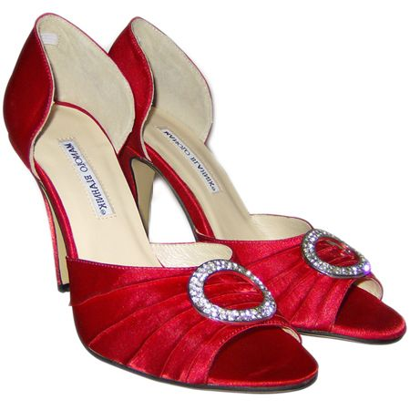 manolo blahnik wedding shoes red