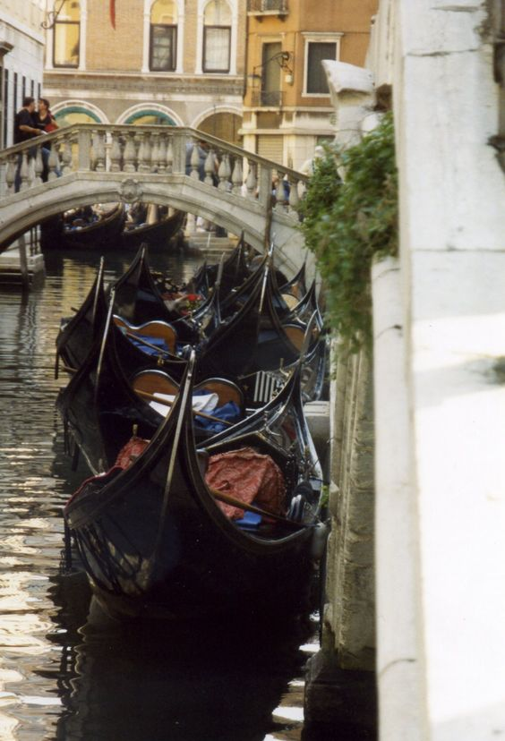 Venice Canal - the only thing I have not yet done in Italy!!
