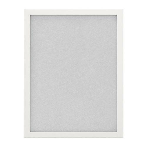 Fiskbo cadre blanc aquarelles ikea et cadres d 39 affiches - Cadre photo blanc ikea ...