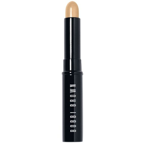 Bobbi Brown Face Touch Up Stick, 0.08 oz ($30) ❤ liked on Polyvore featuring beauty products, makeup, face makeup, concealer, warm ivory, toiletry kits, travel bag, dopp bag, creamy concealer and travel dopp kit
