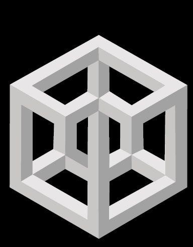 Escher figuras imposibles buscar con google visual - Figuras geometricas imposibles ...