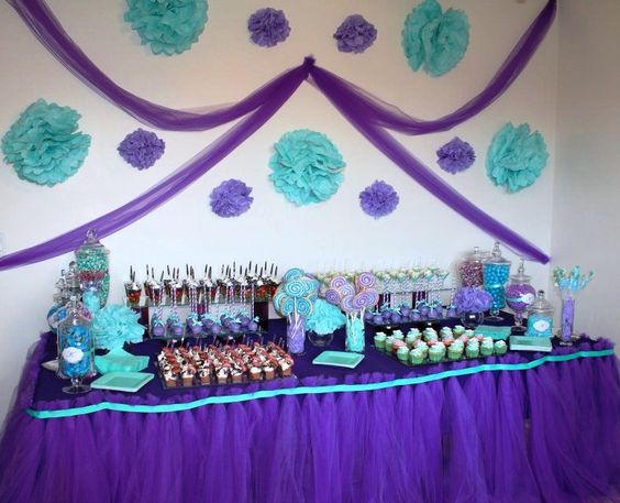 Purple And Teal Party Pinterest Teal Back Drop And
