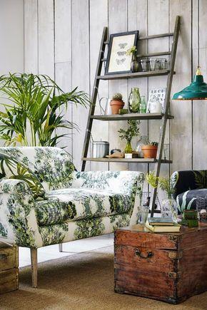 Wiosenna dekoracja salonu