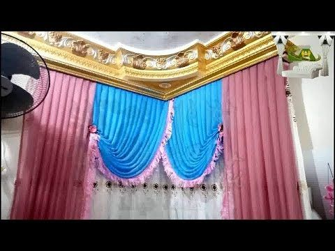 How To Install Curtains In The Corner Of The Curtain House Easily And Professionally Youtube Curtain Installation Curtains Valance Curtains