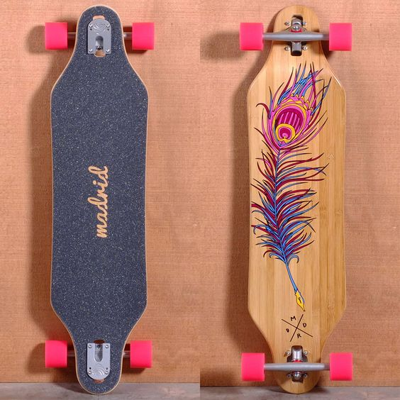 12 of the coolest longboards for girls kitesista. Black Bedroom Furniture Sets. Home Design Ideas