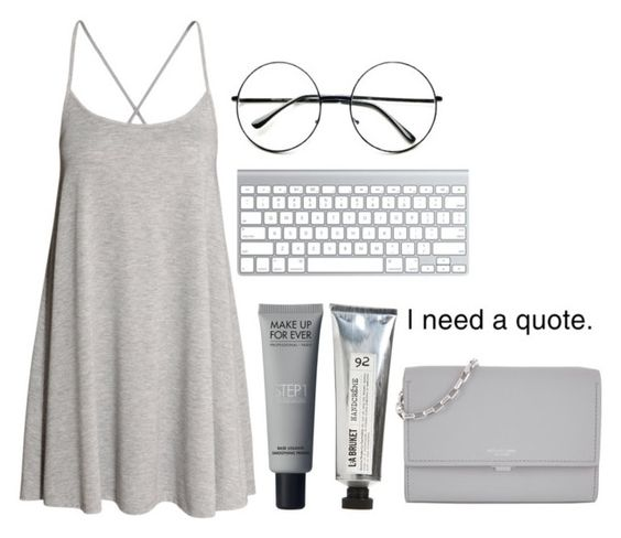 """""""Untitled #108"""" by dementedaggression on Polyvore featuring H&M, L:A Bruket, Michael Kors and Retrò"""