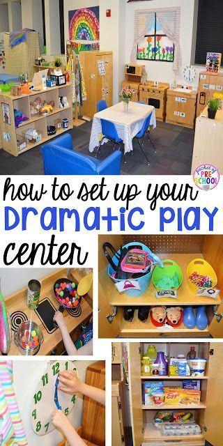 drama centr incial juego imaginario escuelita jugando preescolar juegos centros de jardn de infancia jardn de infancia dramtica