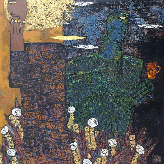 TRINH TUAN http://www.widewalls.ch/artist/trinh-tuan/ #contemporary #art #painting: