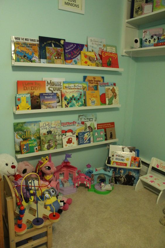 Converting my daughter's playroom into a toddler room on a budget.