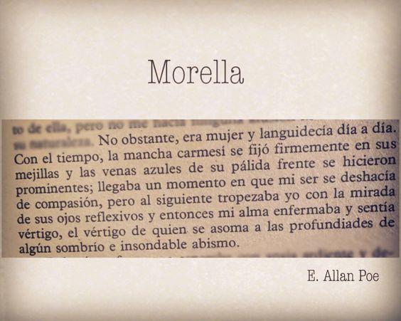 <Narraciones extraordinarias, Morella> volumen 4; España, 1984 Edgar Allan #Poe