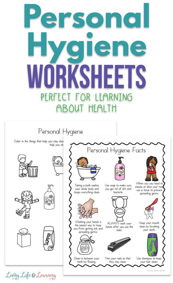 Personal Hygiene Worksheets For Kids Personal Hygiene Worksheets Worksheets For Kids Hygiene Lessons