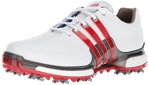Último Interminable bancarrota  adidas Men's TOUR360 2.0 Golf-Shoes, Ftwr White/Scarlet/Dark Silver  Metallics, 11 Medium US | Golf shoes mens, Adidas golf, Golf shoes