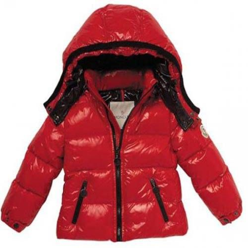 Moncler Jacket Kids Red